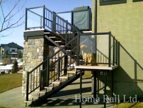 Stair Railing in Lethbridge