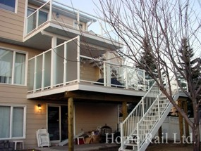Lethbridge Glass Deck Railing